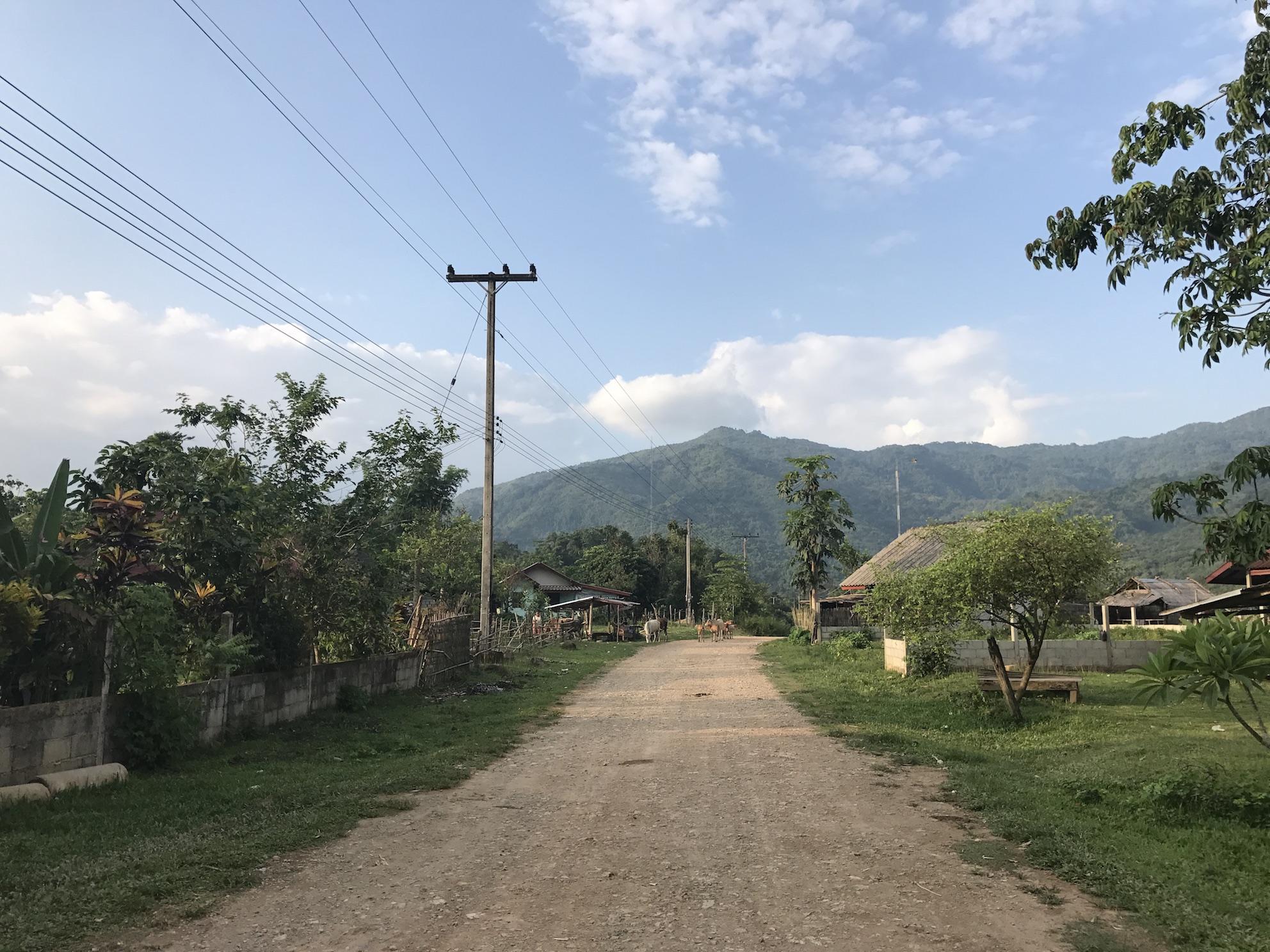 Small Village outside Vang Vieng