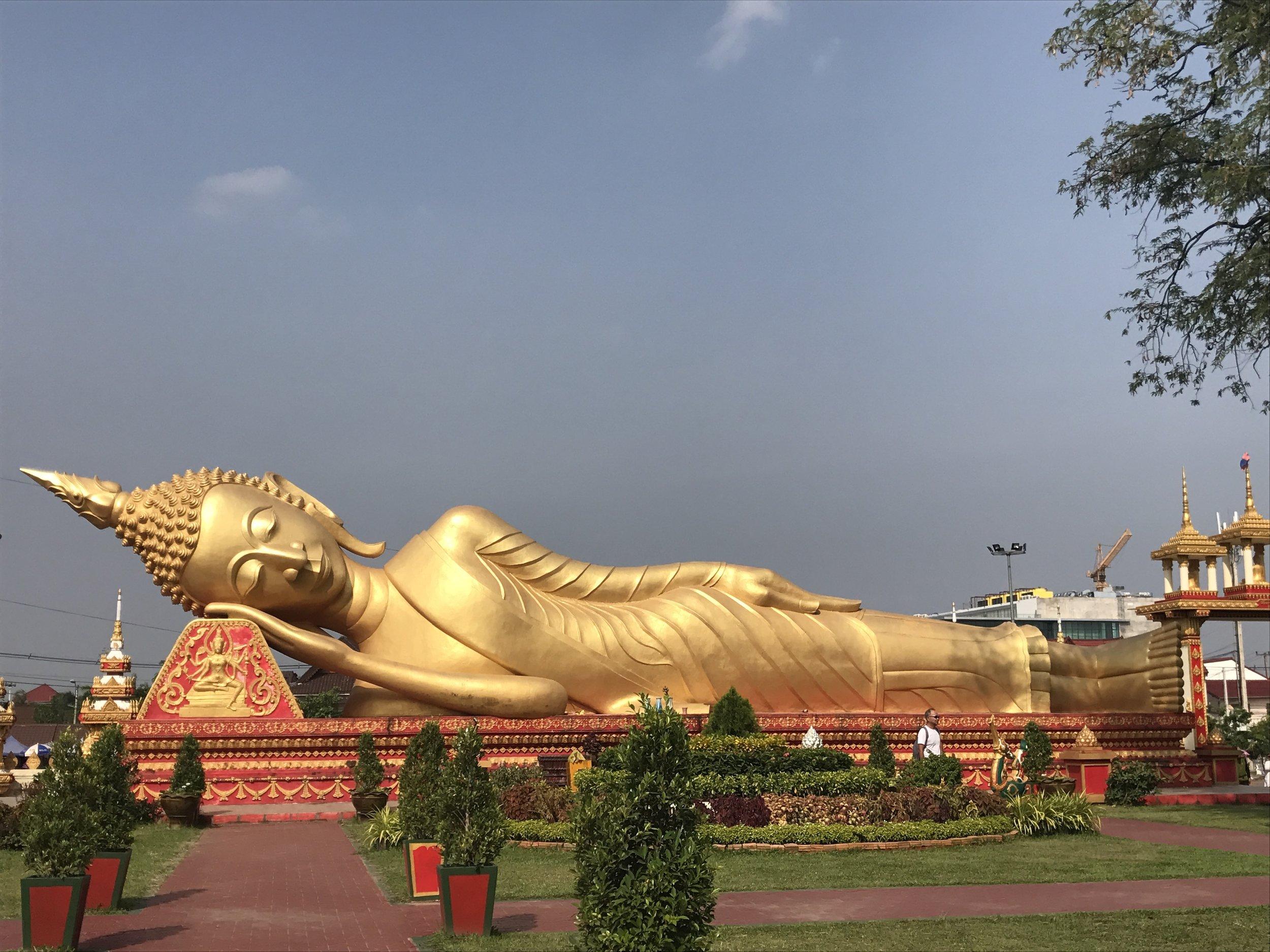 Reclining Buddha Replica