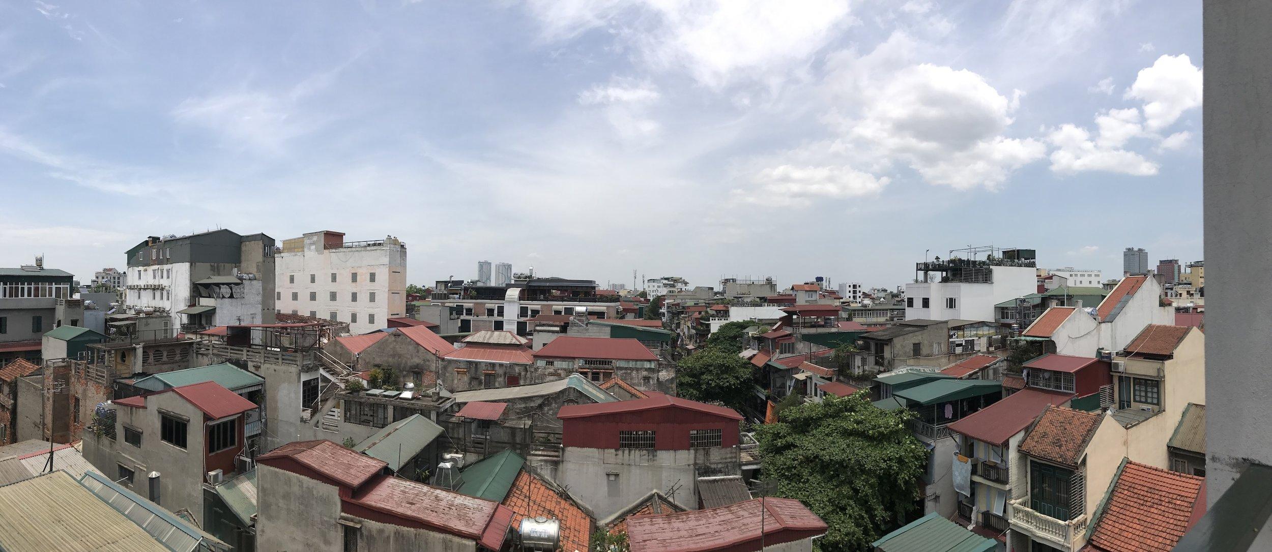View over Hanoi