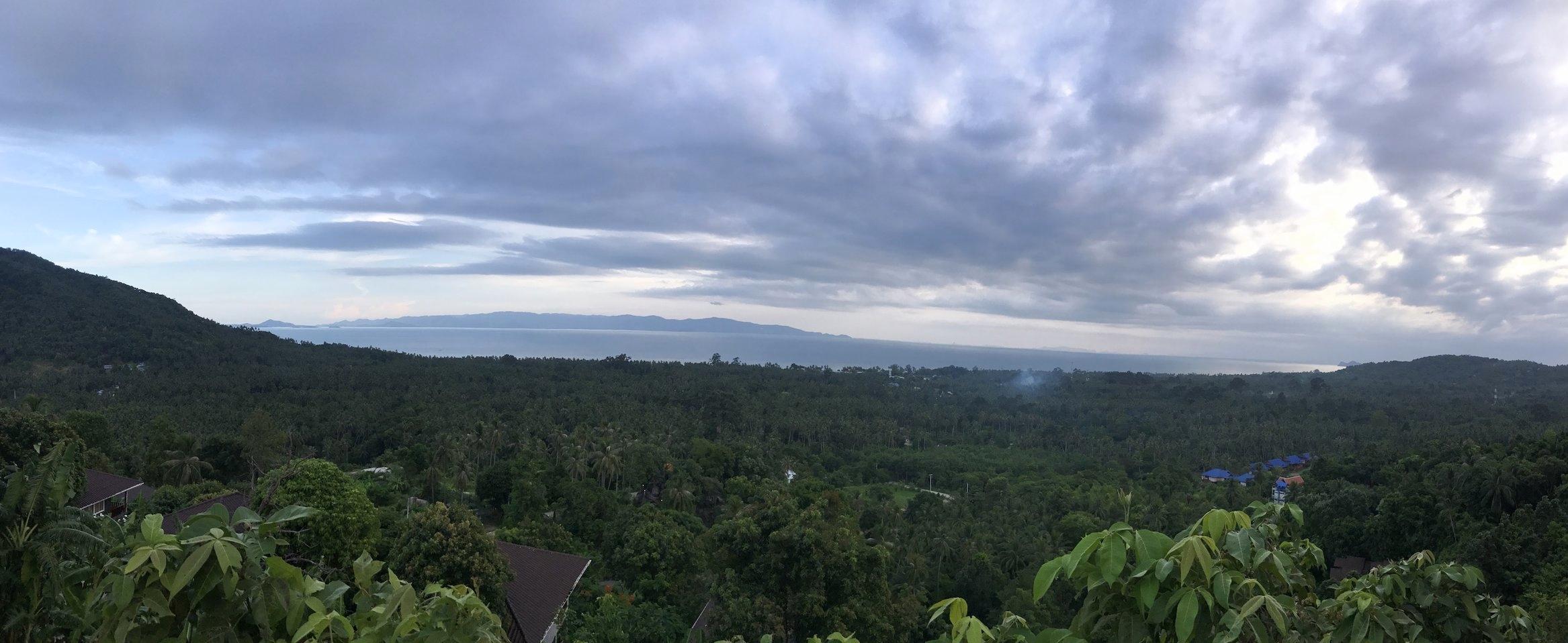 View Across Koh Phangan