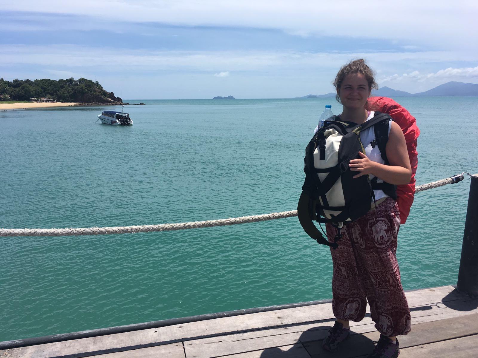 Arriving in Koh Samui