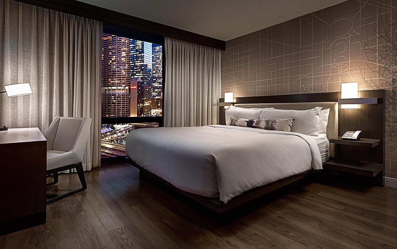 King Guest Room, Marriott