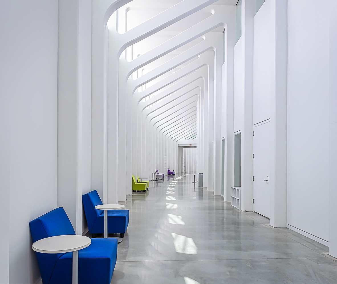 Interior - IST Building, Florida Polytechnic University