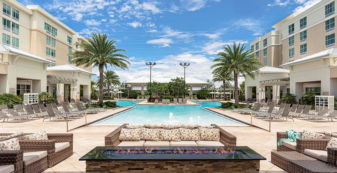 Guest pool - Springhill Suites Orlando at Flamingo Crossing