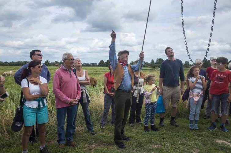 Thurne Windmill Volunteers Giving A Guided Tour