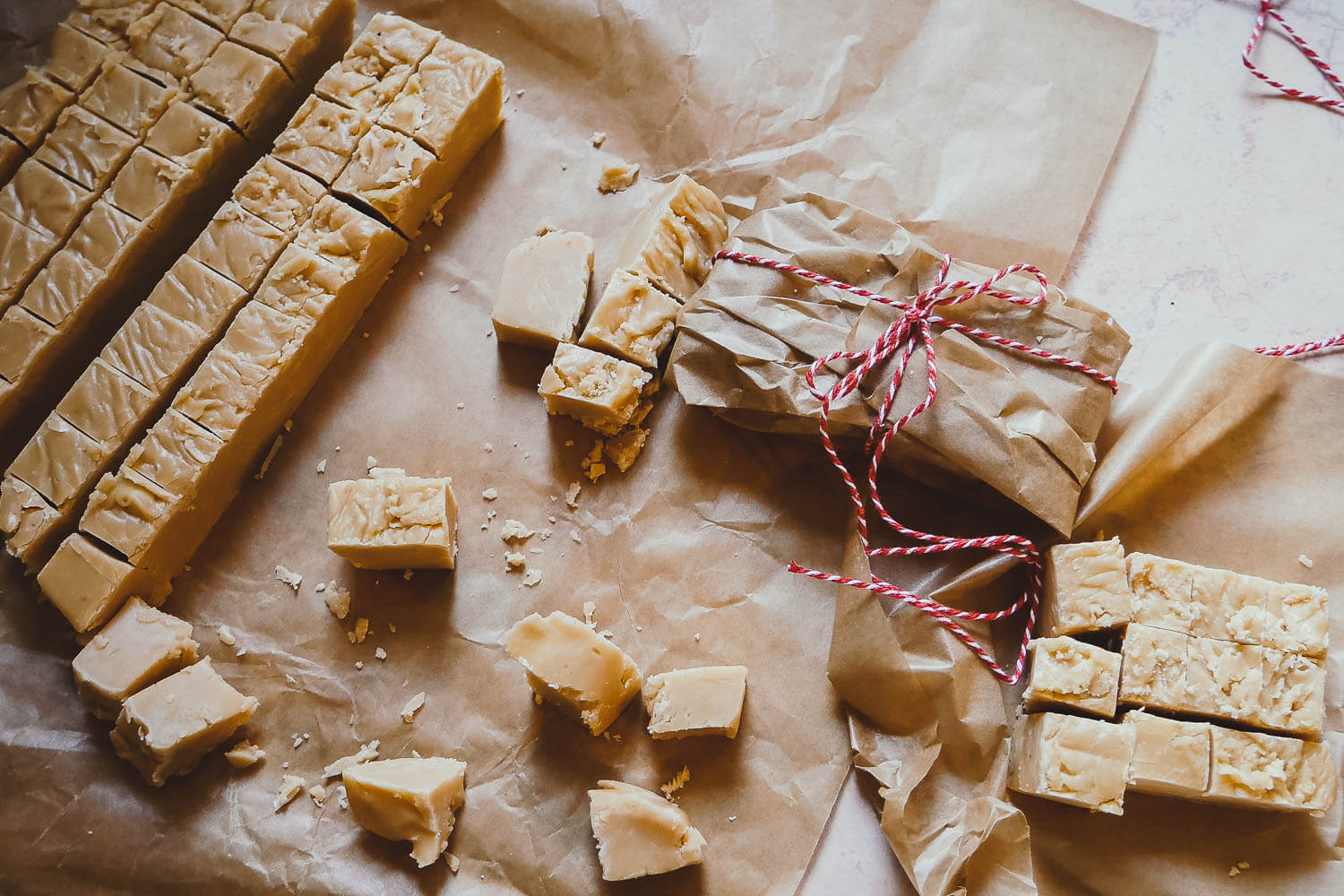 Vanilla Fudge Recipe - easy homemade fudge