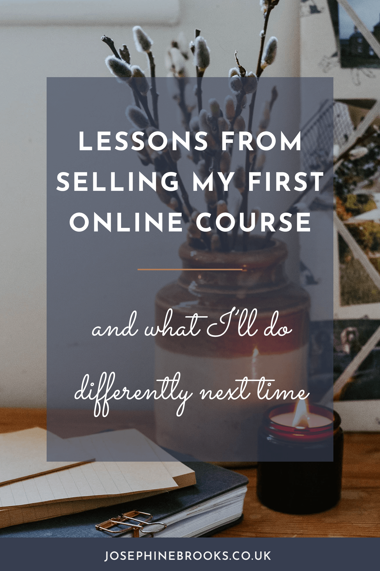 Lessons from selling my first online course & what I'll do differently next time