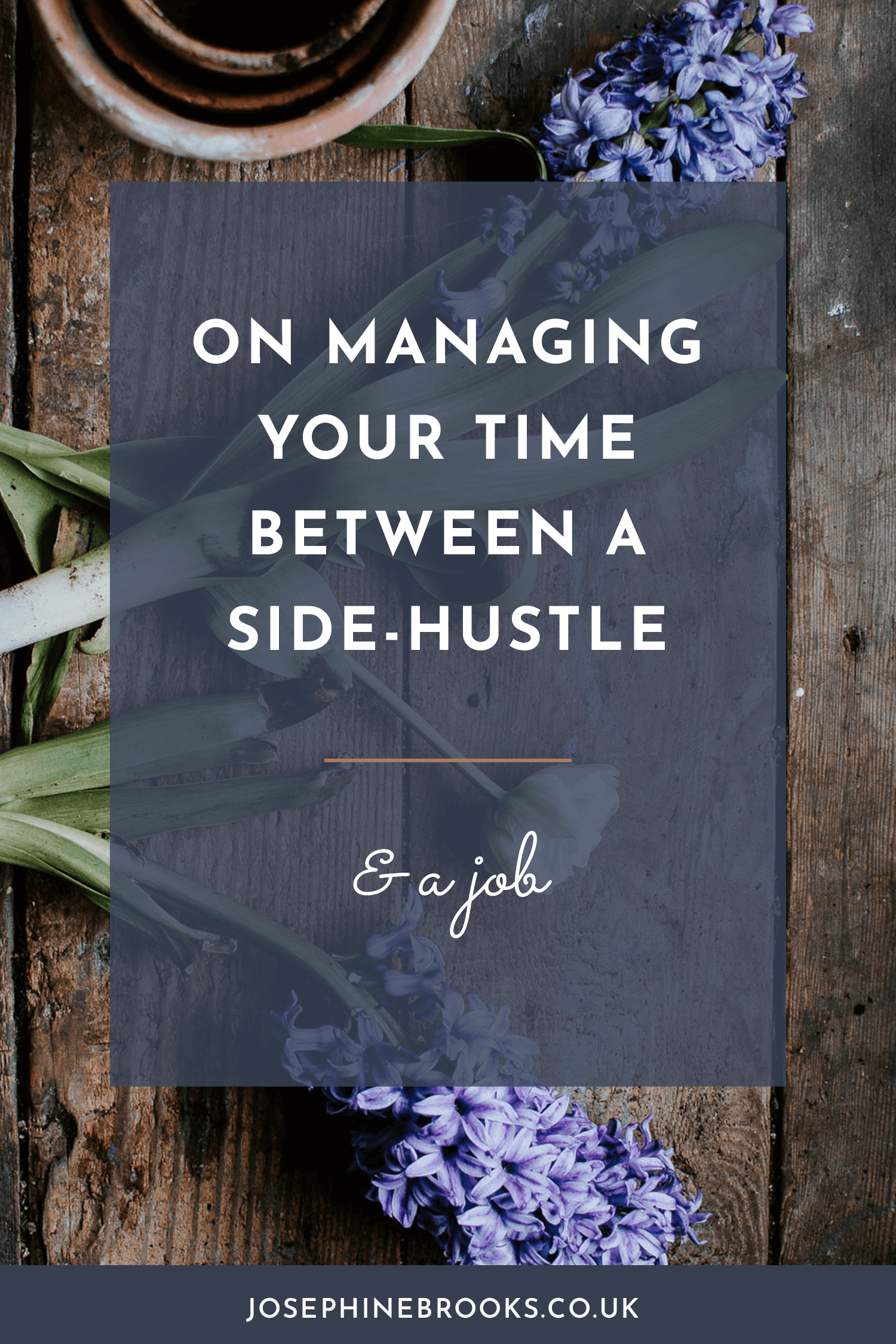 How to manage your time when you have a job and a side hustle, starting a side hustle, how to grow a business when you have a job as well