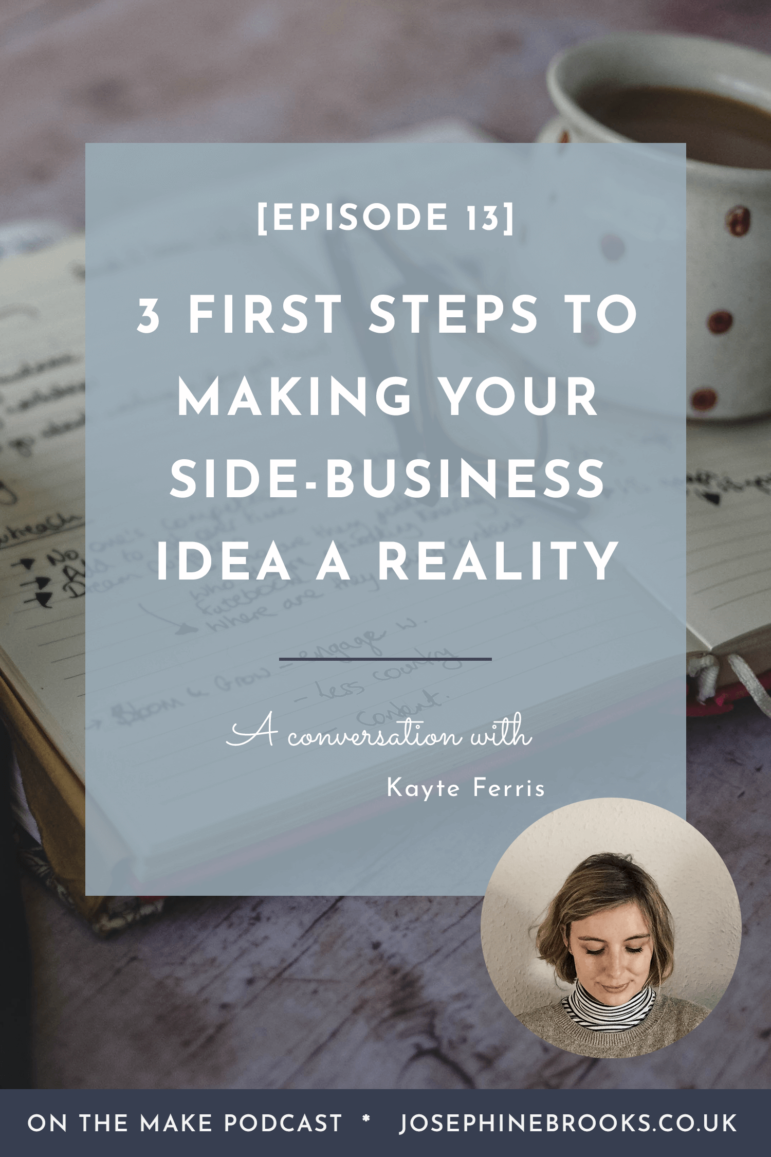 3 first steps to making your business idea a reality, the foundations of a creative business, where to start with creative business marketing, How to start a side-hustle