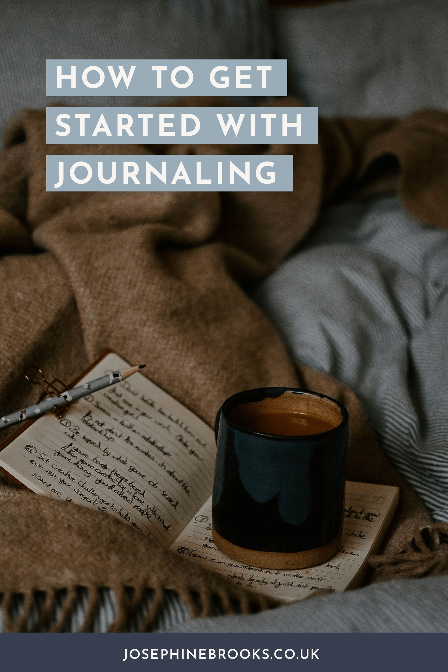 How to get started with journaling to help your side-hustle flourish and find the answers within you | Josephine Brooks