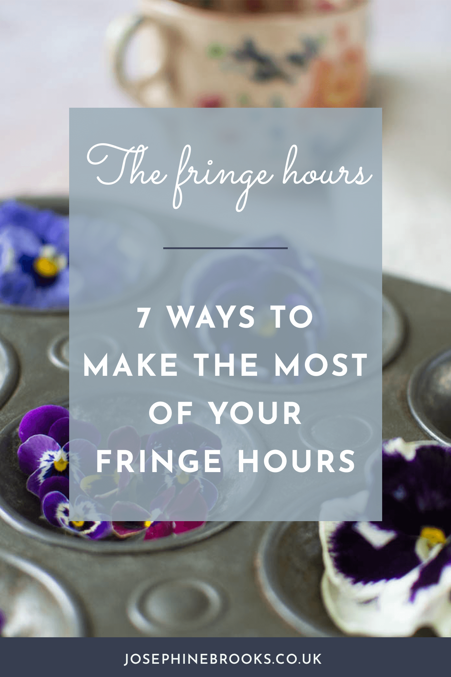 7 ways to make the most of your fringe hours, Post office queue productivity, 9 jobs you can get done in the post office queue, time management hacks for creative business, productivity tips for makers and designers, time management for creatives | Josephine Brooks