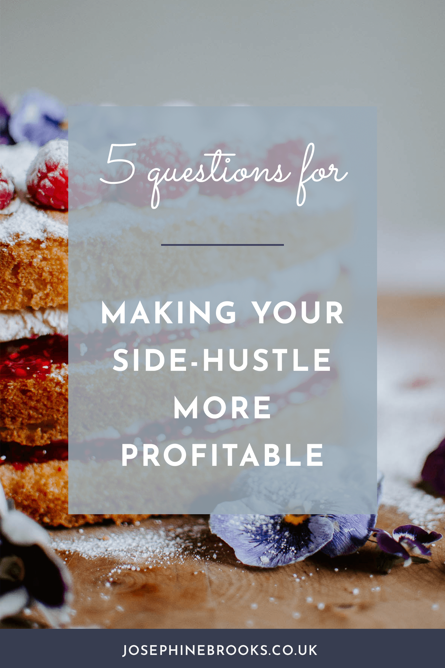 Making your business earn more, Increasing your business income, 5 questions for increasing your profitability, How to review your creative business product line and make it more profitable, How to make a profitable product line, Create profitable products | Josephine Brooks