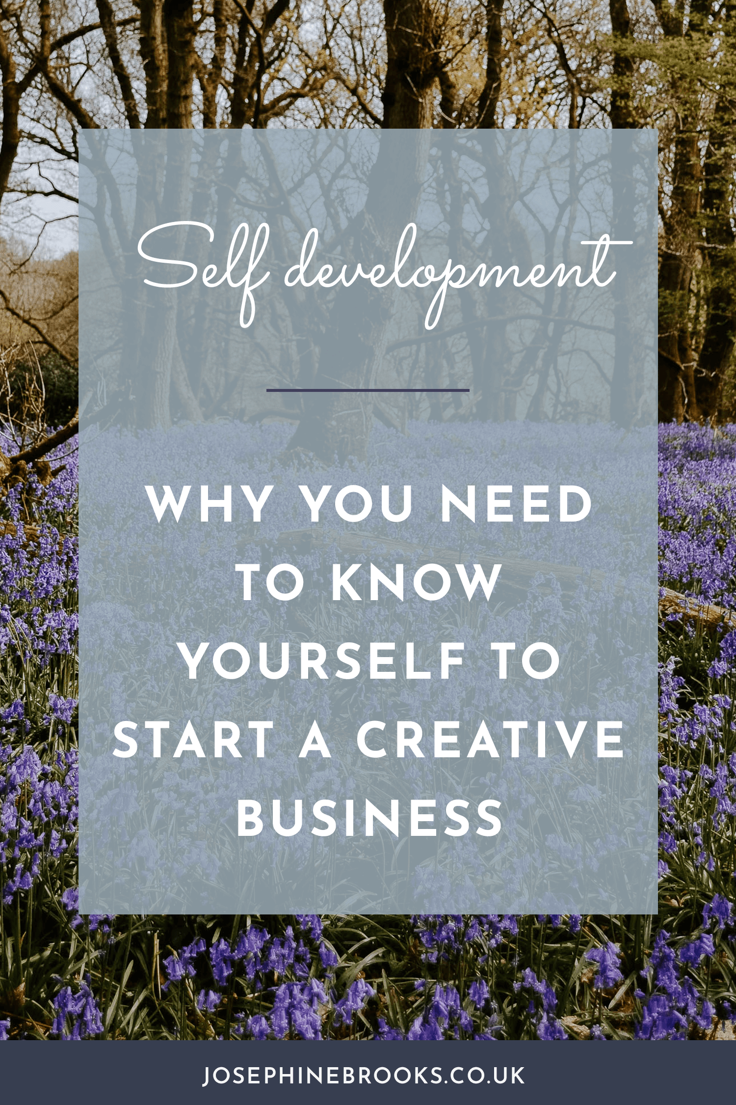Why you need to know yourself to start a creative business, where to start with learning about yourself and self development, Growing a Creative Business- Why you need to get to know yourself first and how, self development, where to start, How to take a personality test, Personality test recommendations | Josephine Brooks