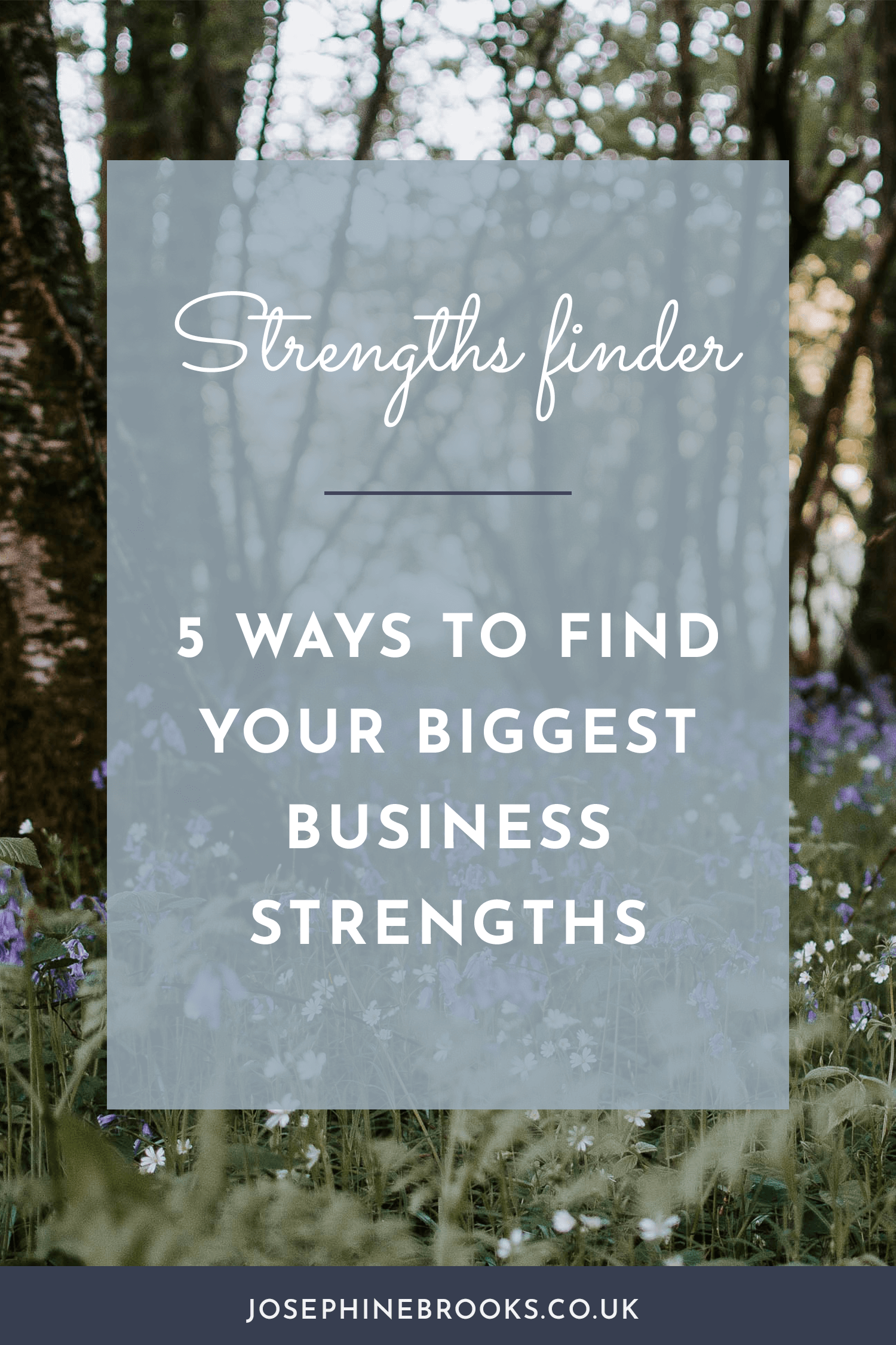 5 ways to find your strengths and weaknesses, 5 ways to reveal your biggest business strengths, Personality profiles for creatives, Small business personal development tips, Personality tests for creatives | Josephine Brooks
