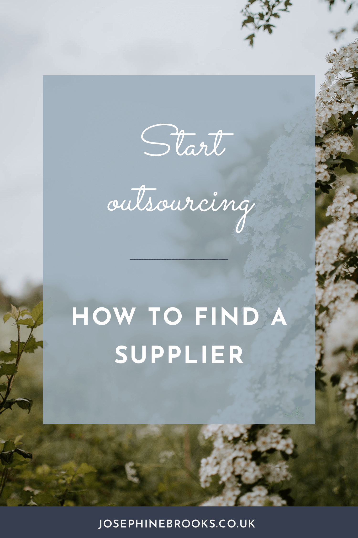 Where you can be outsourcing in you creative business, how to find a supplier for your outsourcing, Where you can be outsourcing in you creative business, how to find a supplier for your outsourcing | Josephine Brooks