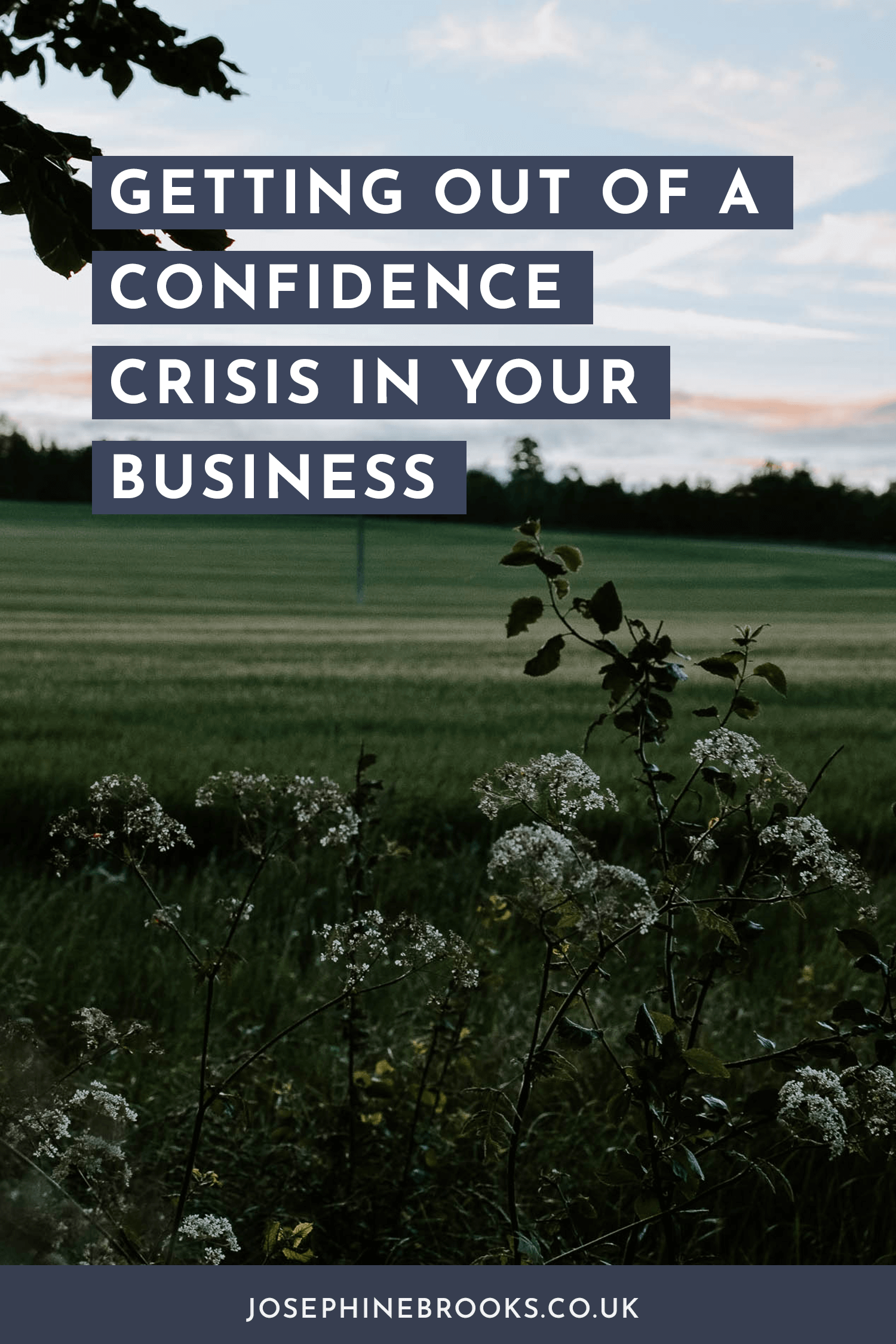 Getting out of a Confidence Crisis in Your Business, How to find clarity in my side-hustle, how to make a plan for you side-Business and get focussed | Josephine Brooks