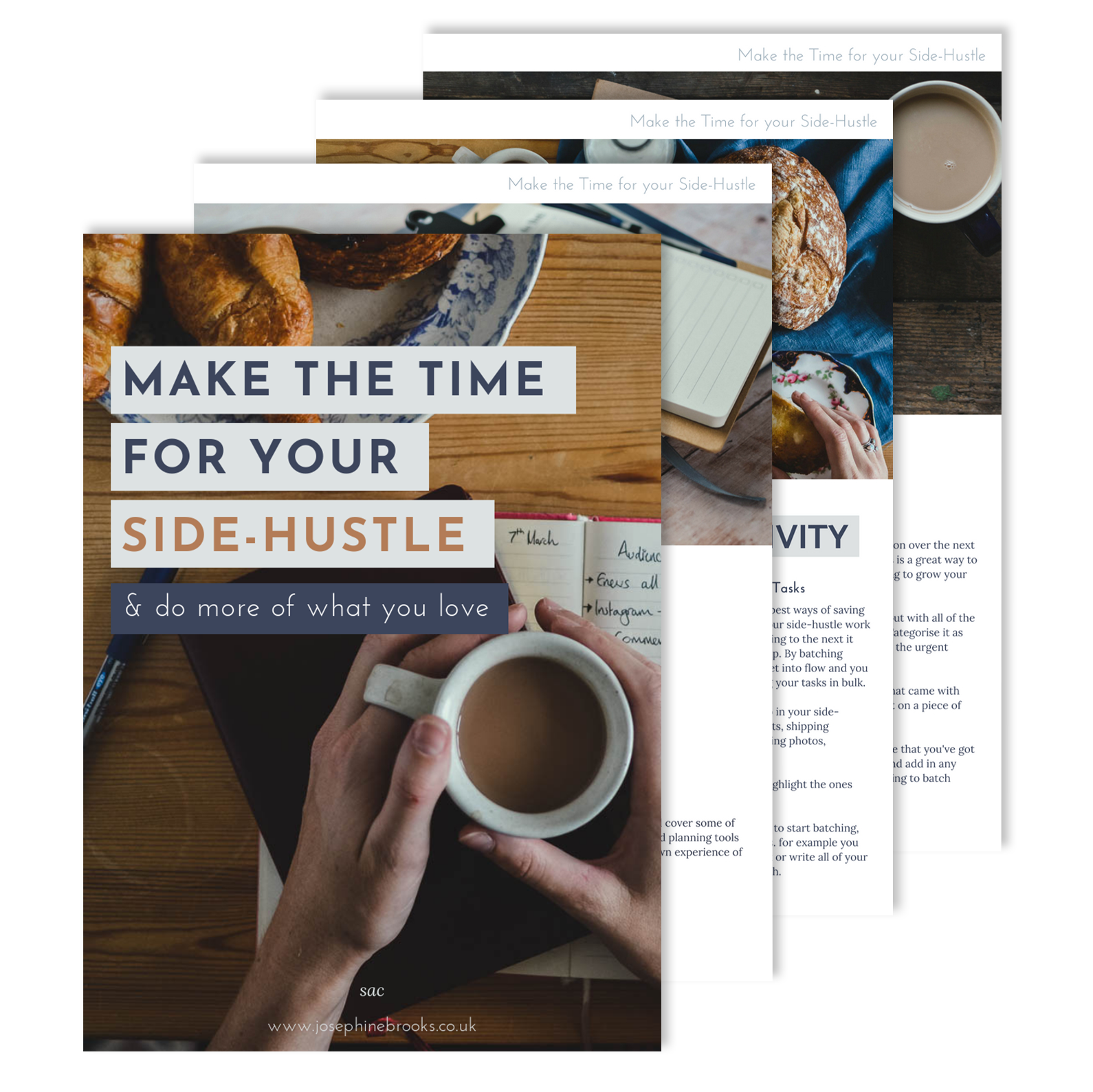 Make The Time for your Side-Hustle Ebook