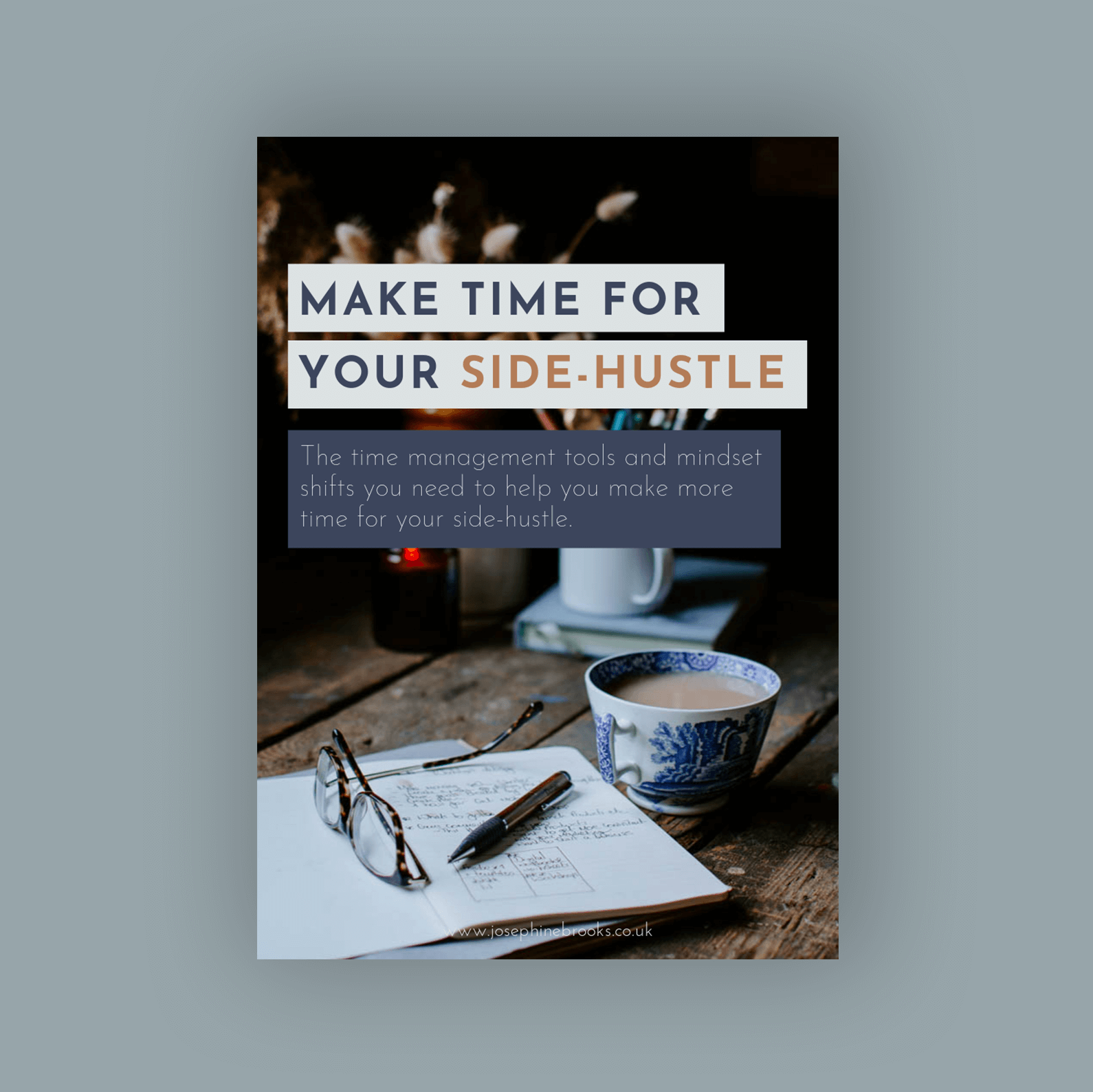 Make Time for Your Side-Hustle Cover