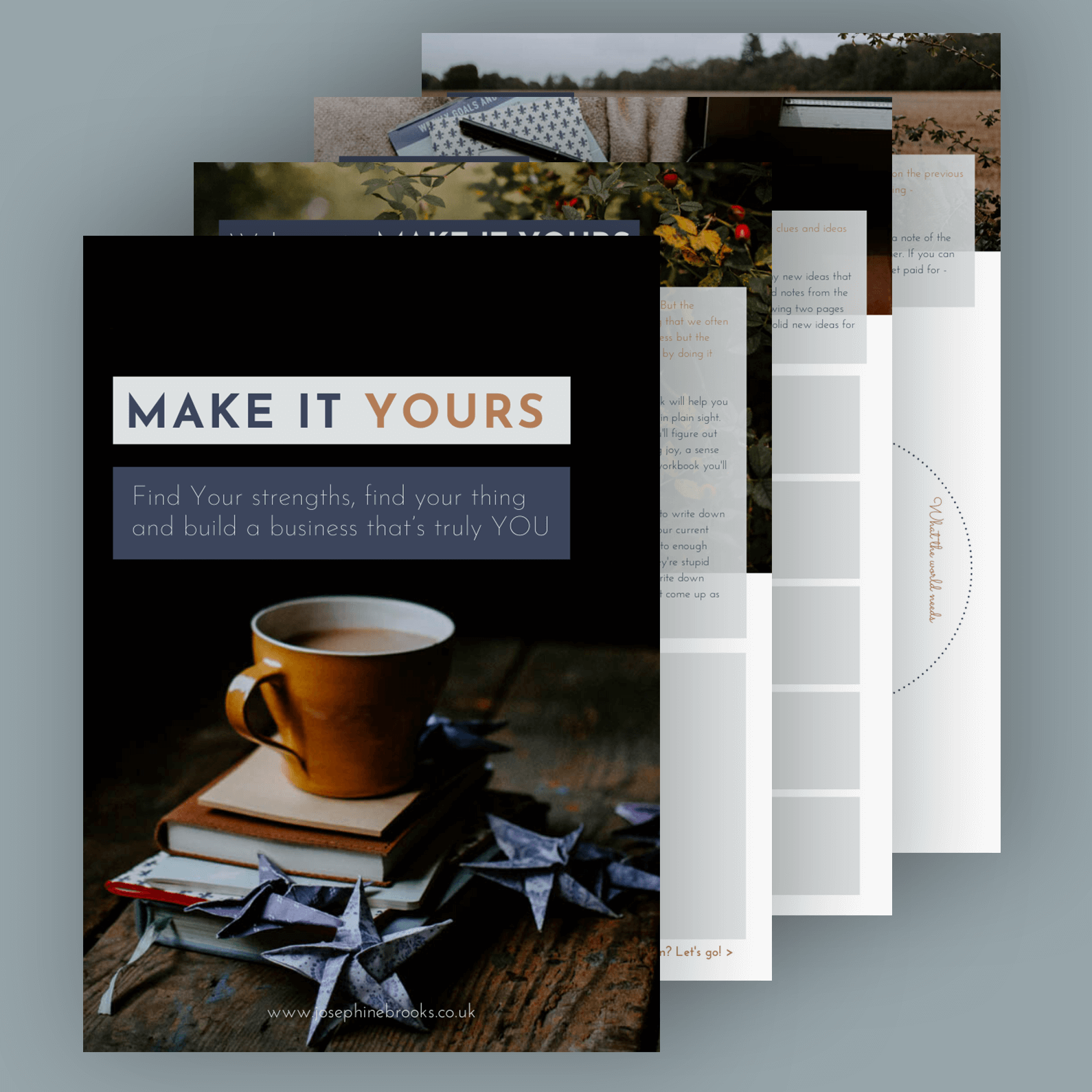 Make it Yours Workbook