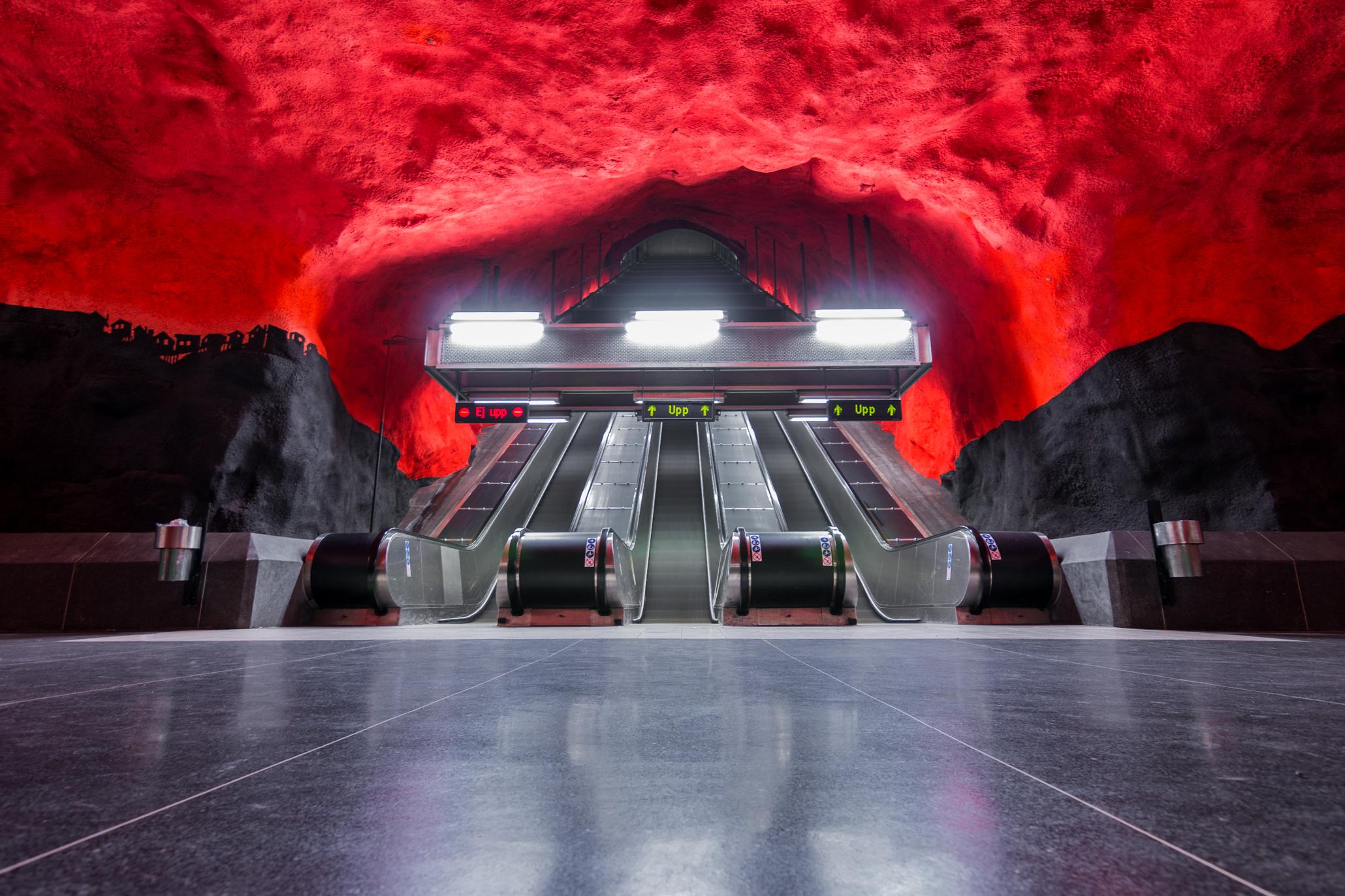 solna+tunnelbana+stockholm+art+subway