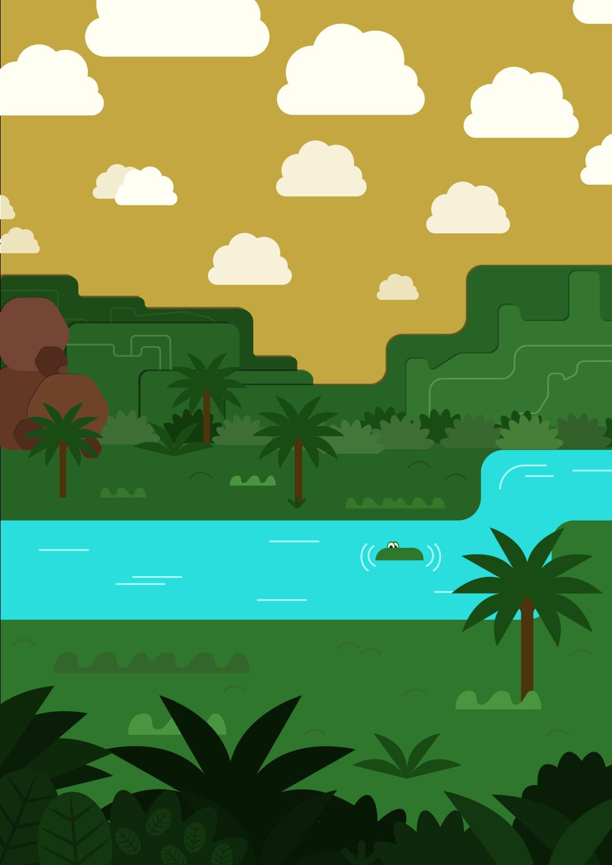 print+jungle