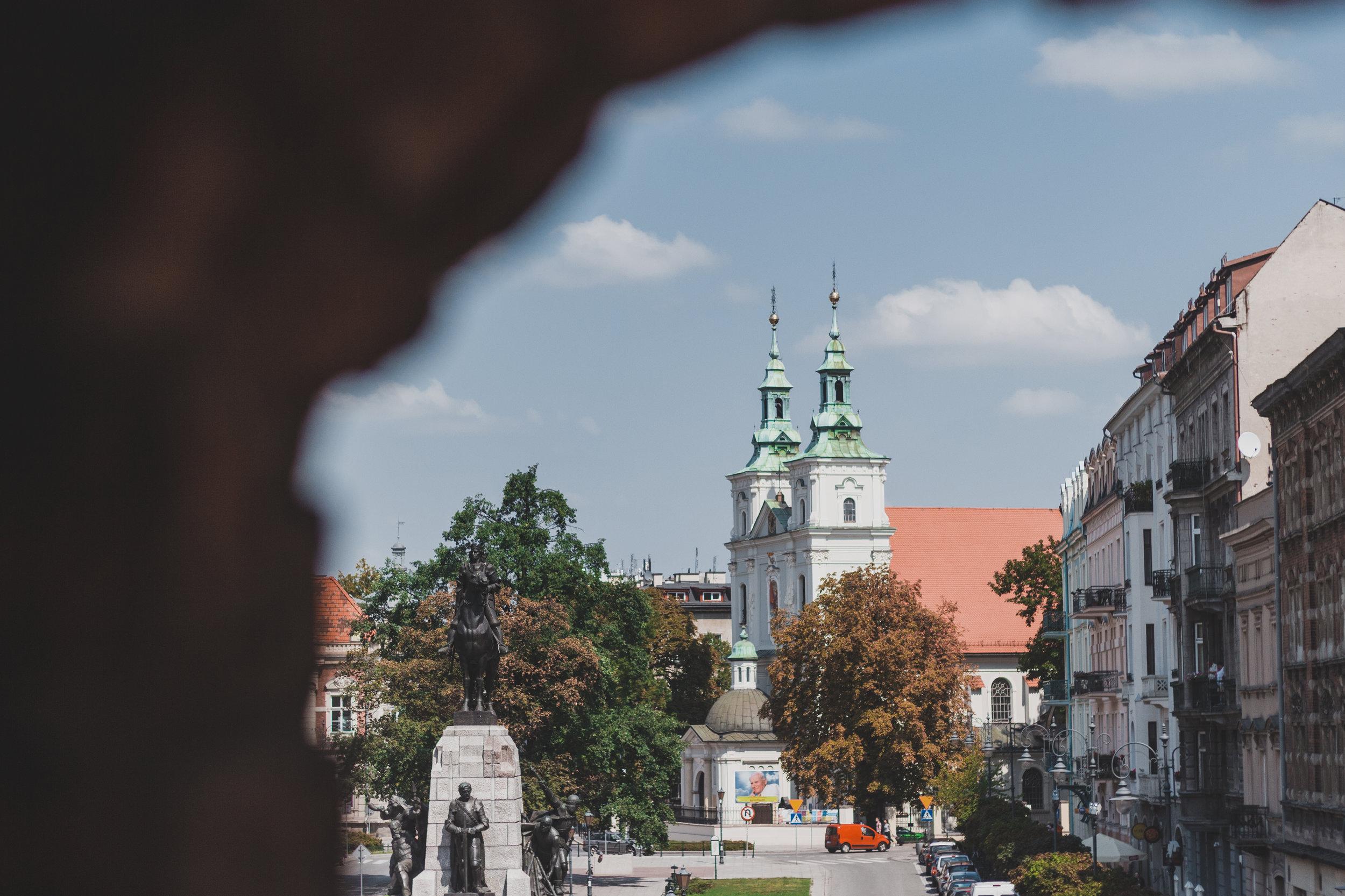 Poland+Krakow+St. Florian's Gate