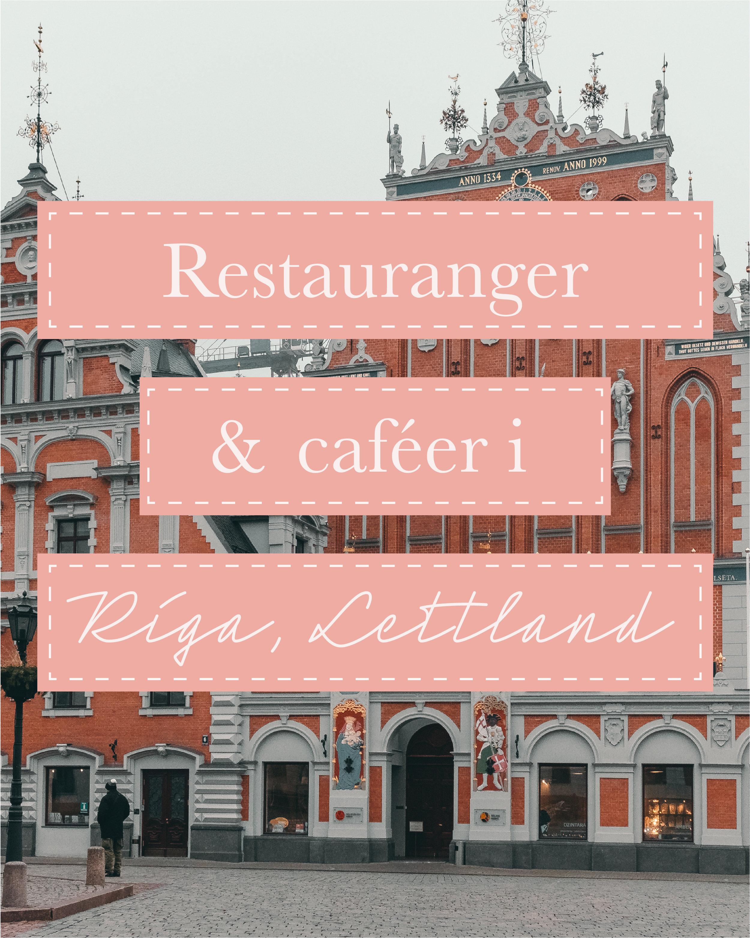riga+top restauranger tips+café guide