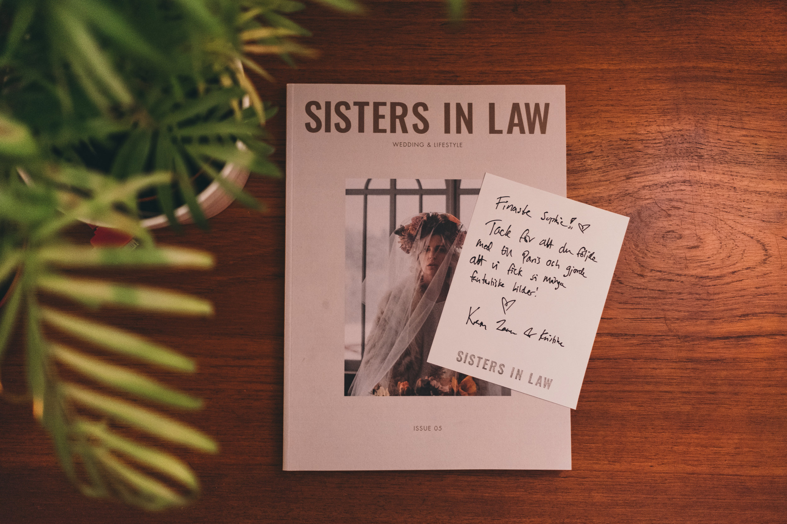sisters in law+magazine