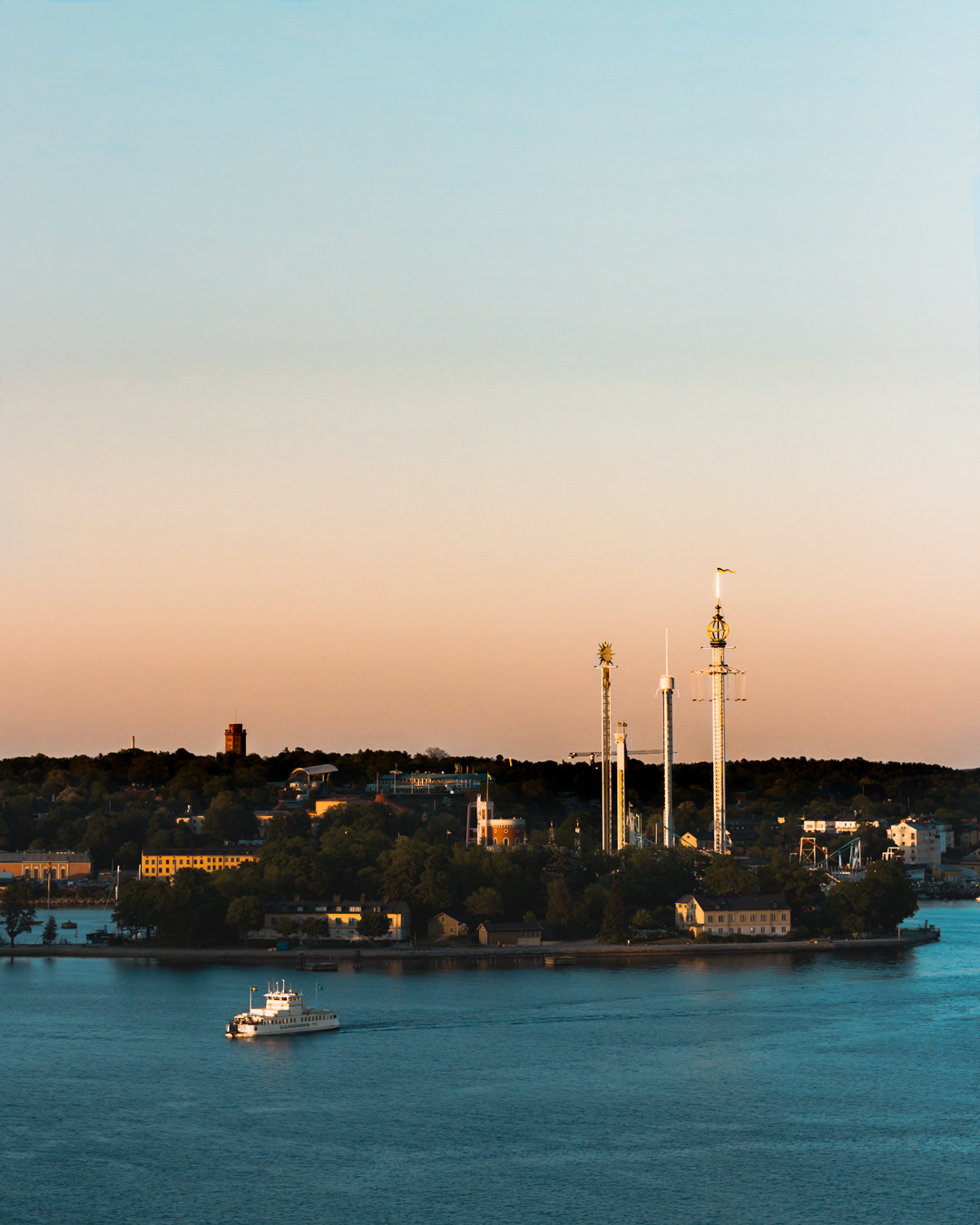gröna+lund+solnedgång+stockholm