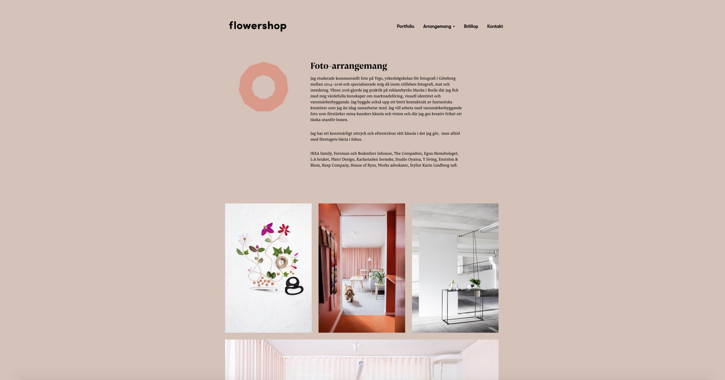 flowershop+webbdesign