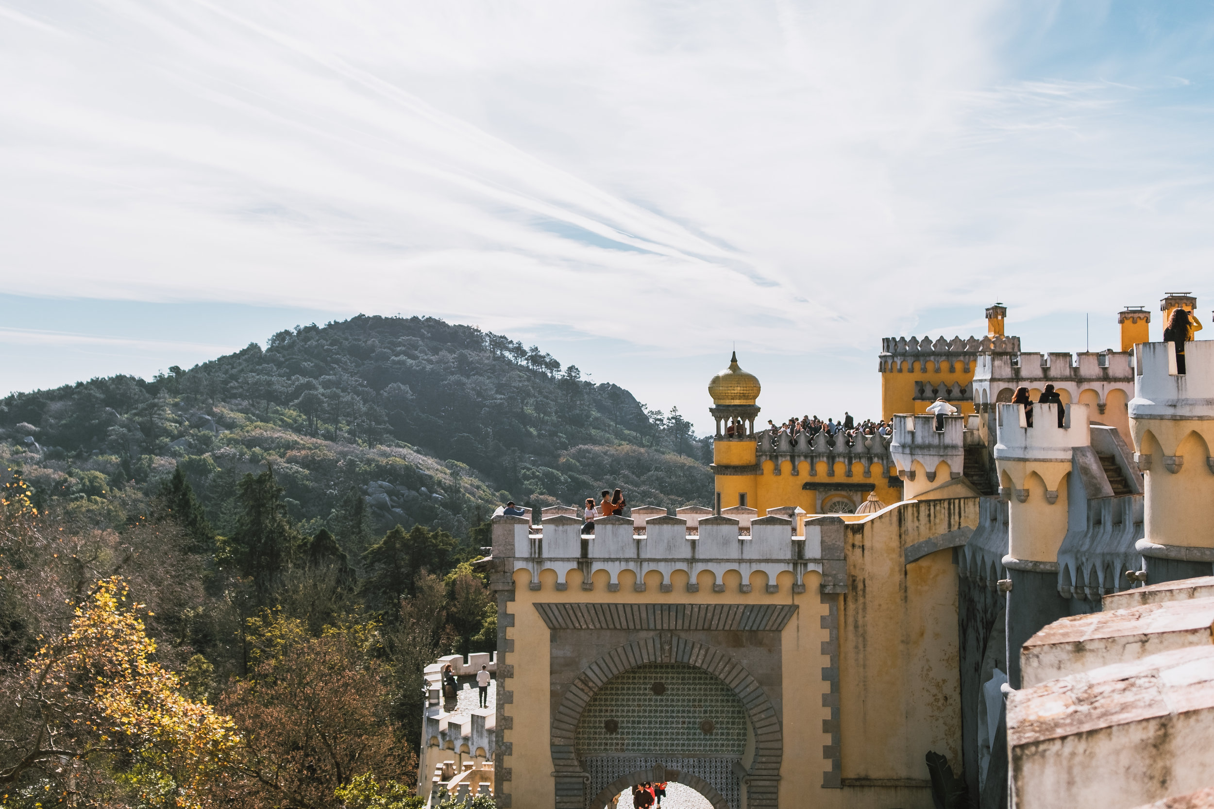 sintra+pena palace+portugal