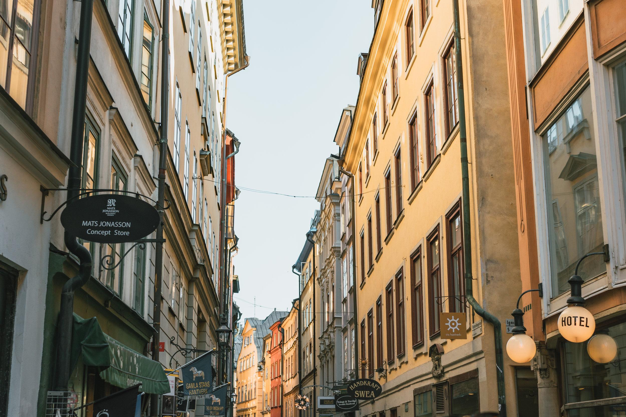gamla stan+stockholm+old town