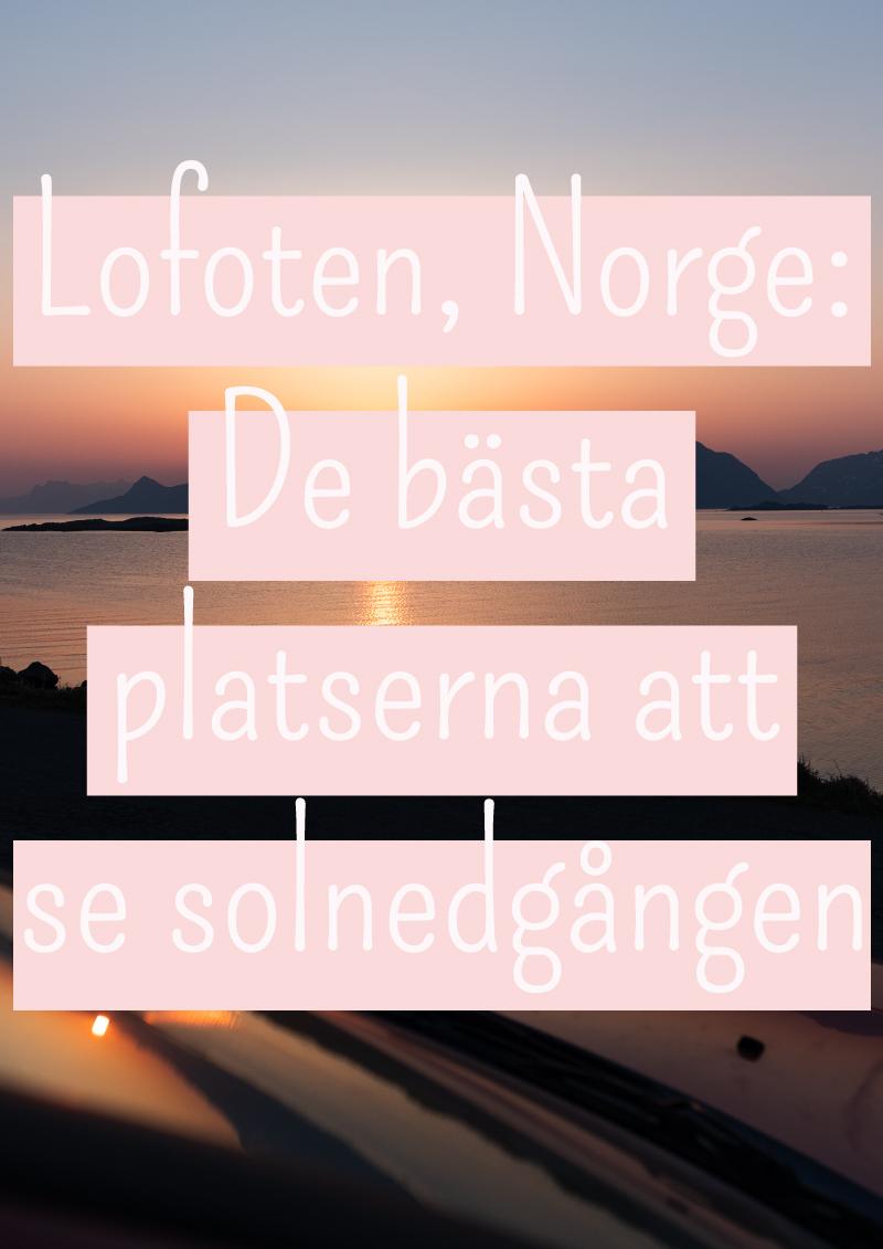 norge+lofoten+solnedgång