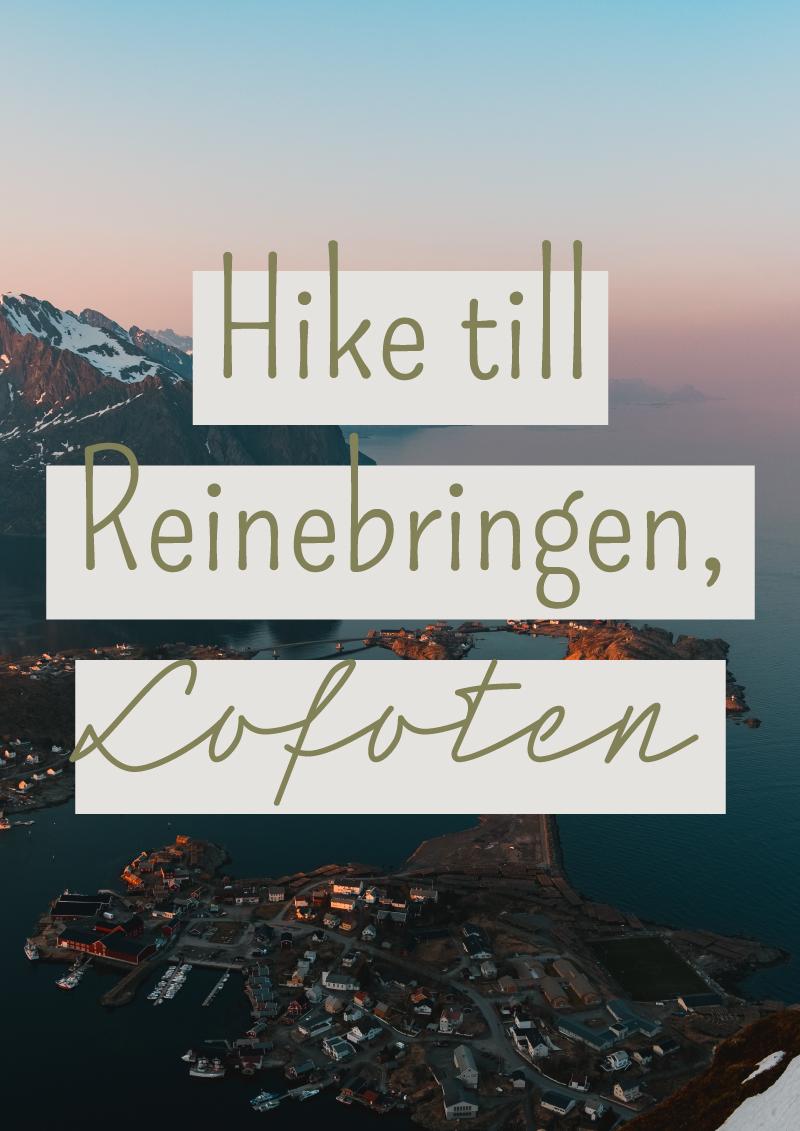 norge+lofoten+reinebringen+hike