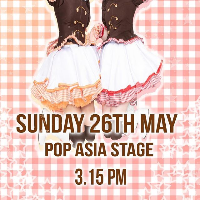 We're excited to be at @mcmcomiccon on Sunday 26th May! We're on the Pop Asia stage from 3.15pm!  We have a very special announcement to make during this performance, so don't miss it! #chekiss #mcmldn19