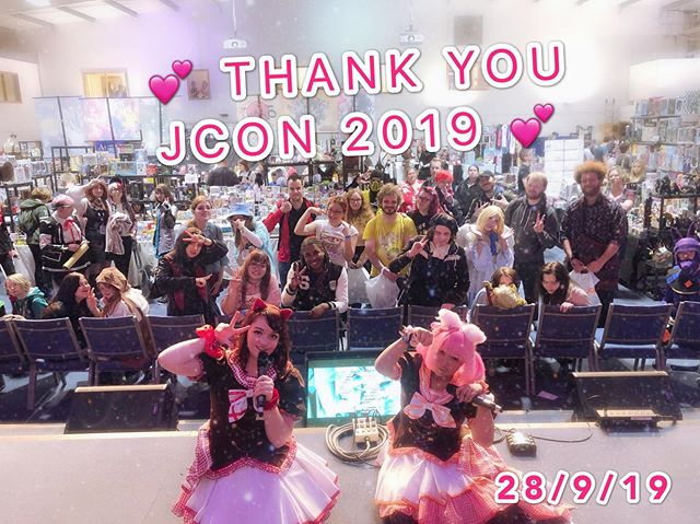 Thank you to everyone who watched us at J-CON today! We hope you had fun! See you again soon 🧡❤️ #jconderby #jcon2019 #chekiss