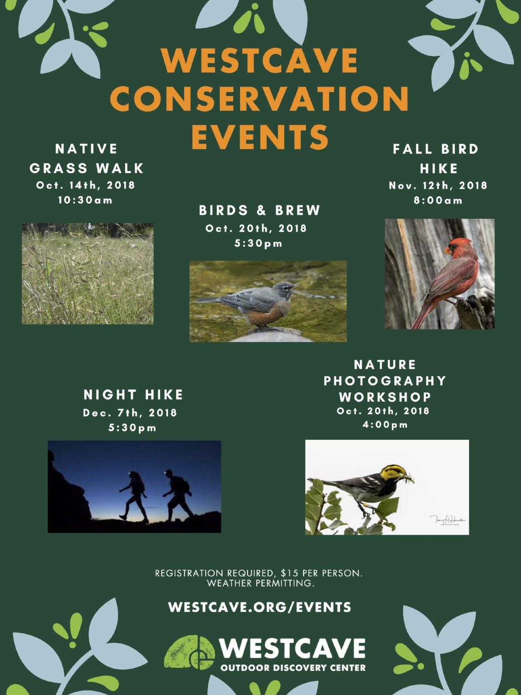 Conservation Fall Programs 2018 - All - flyer.jpg
