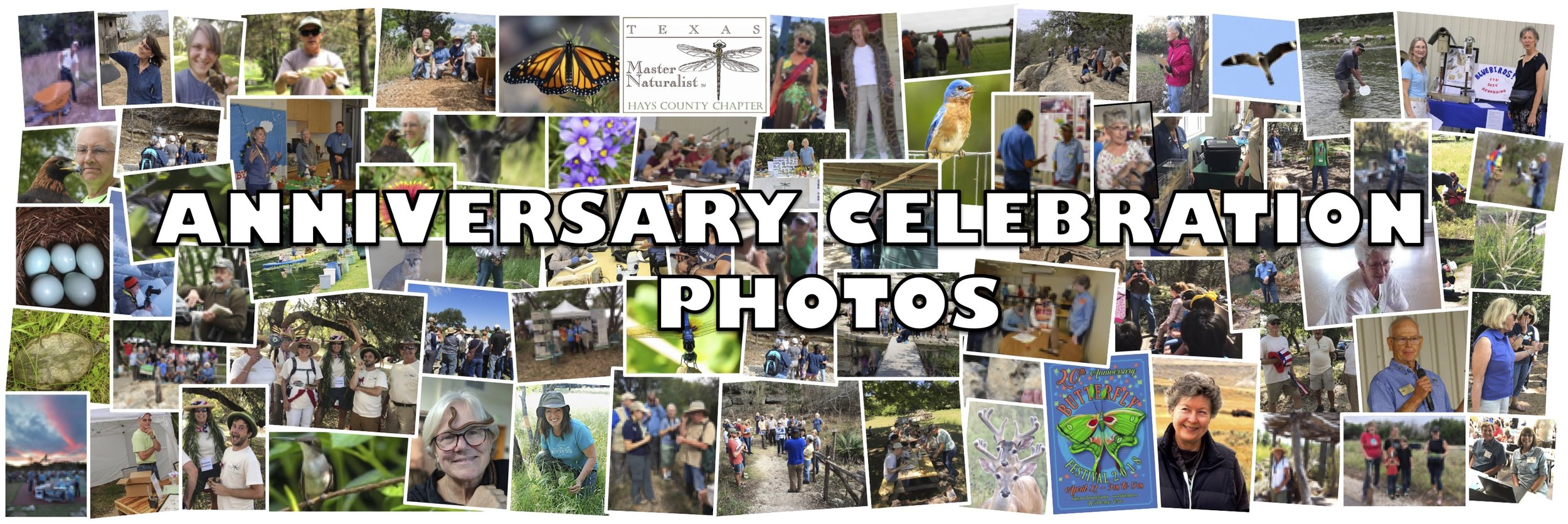 Click on any image to enlarge view and scroll through the Anniversary photos.