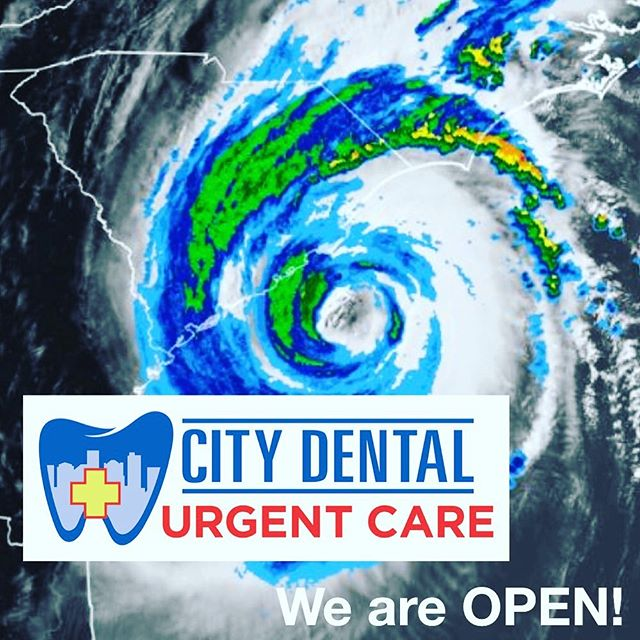 We are OPEN today until 6:00pm if you have any dental needs! 😁 Everyone stay safe!