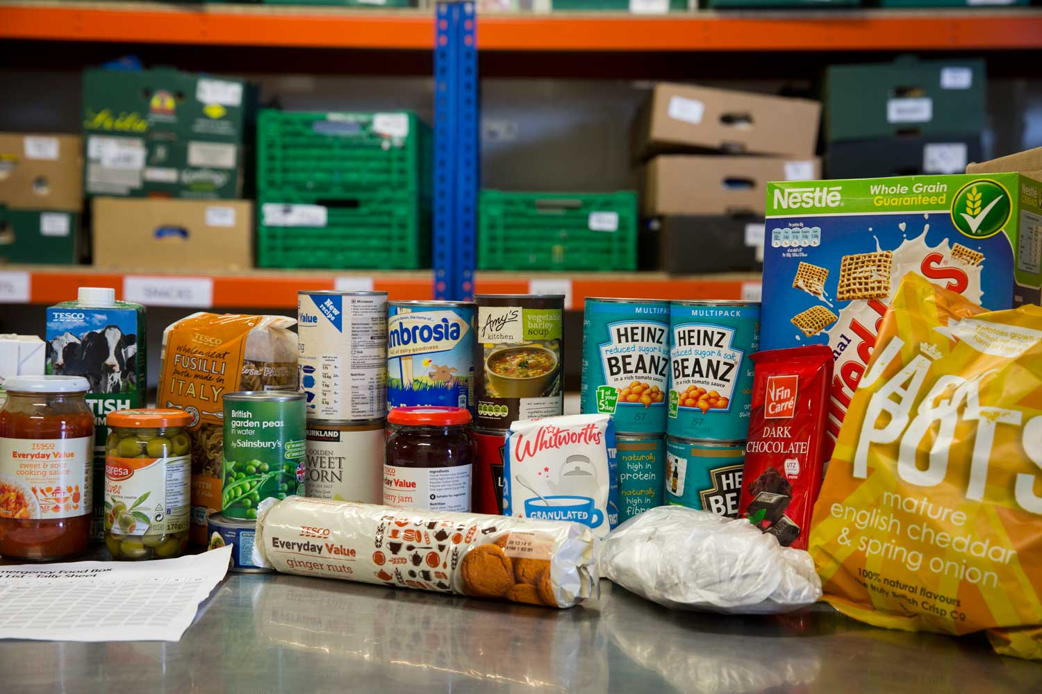 What's In OurFood Parcels? -