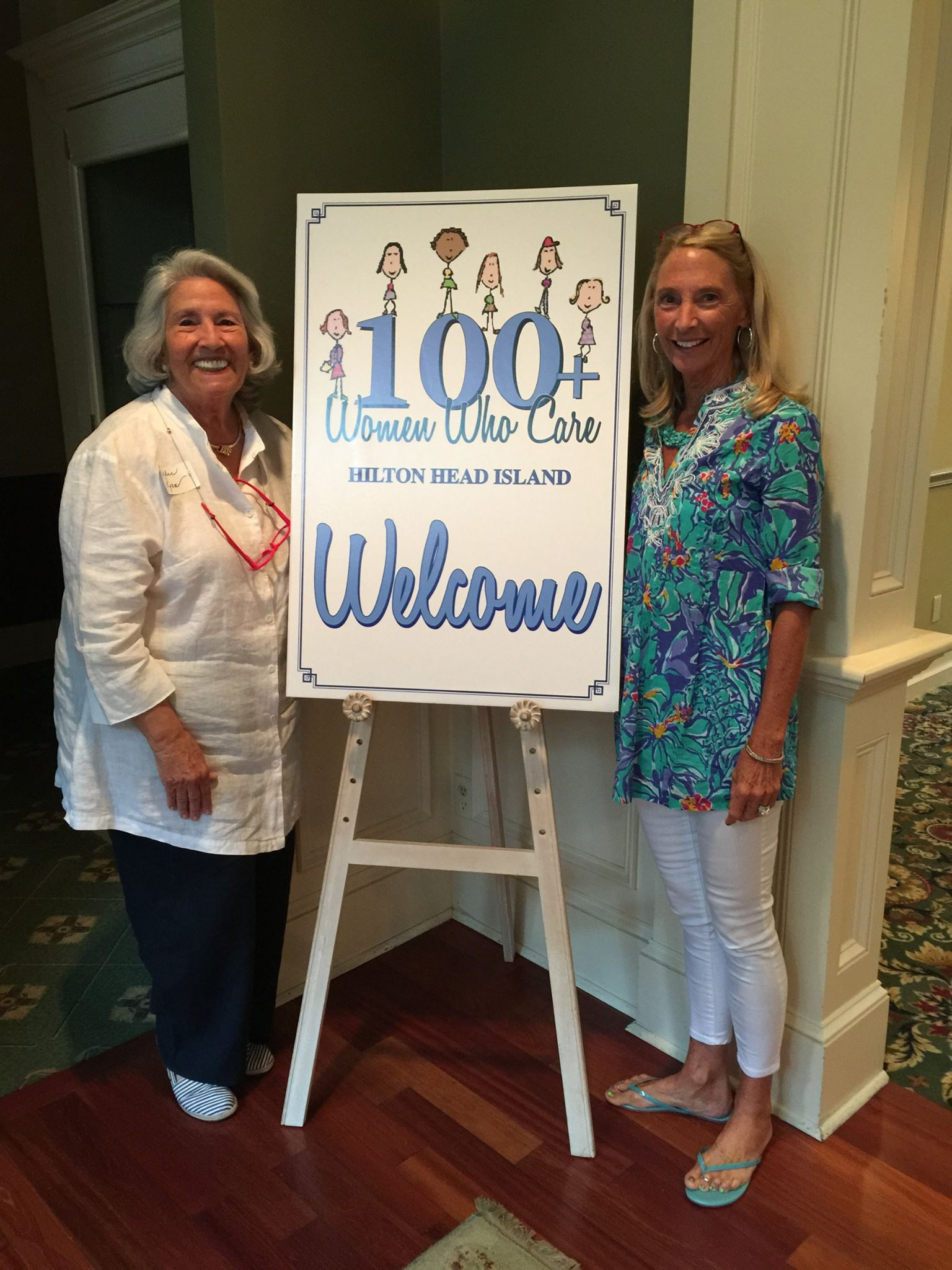Jackie Ryan and Ann Tucker - Founders of 100+ Women Who Care Hilton Head