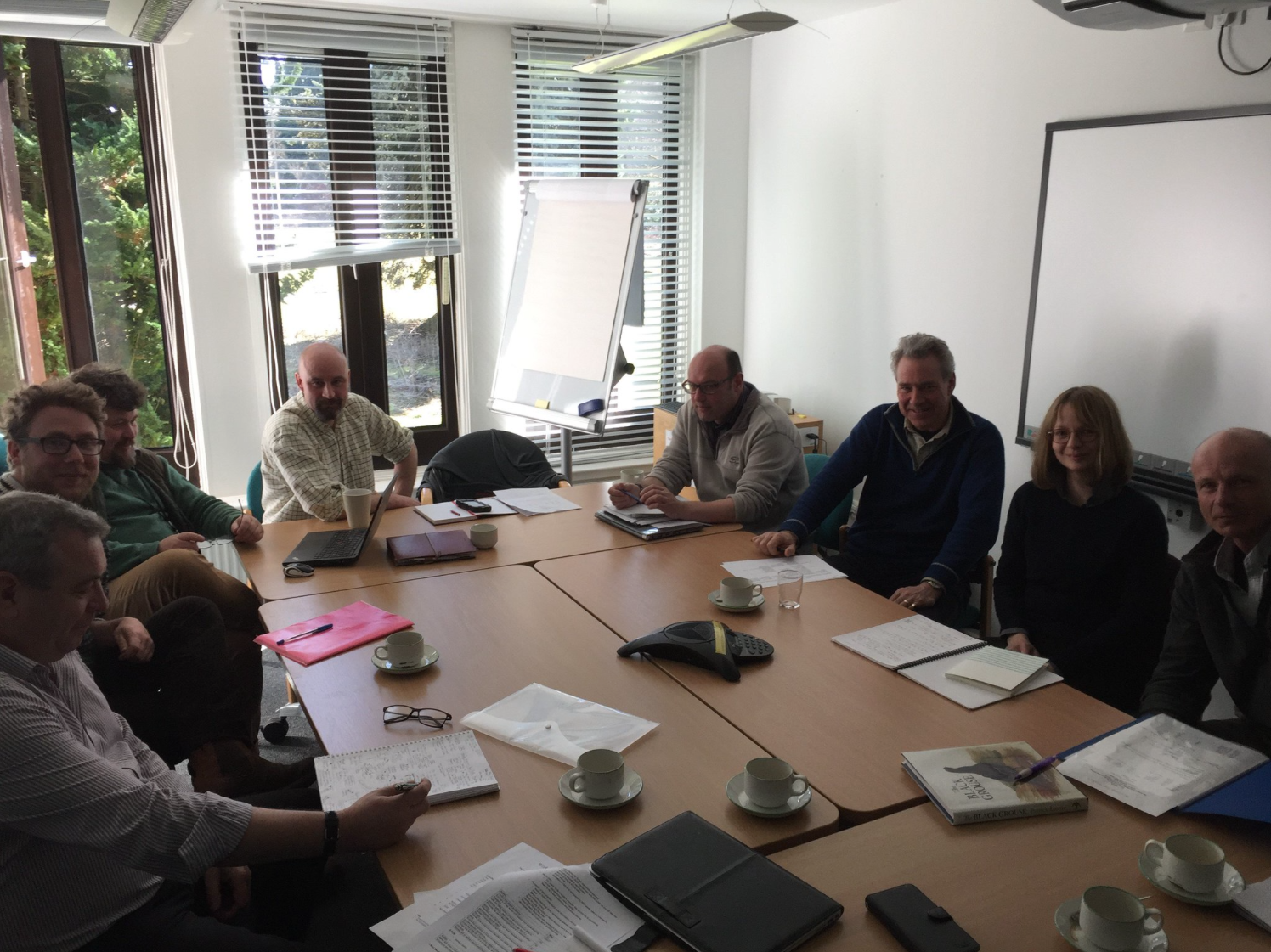The Raising Awareness and Developing Best Practice Group meeting at Battleby
