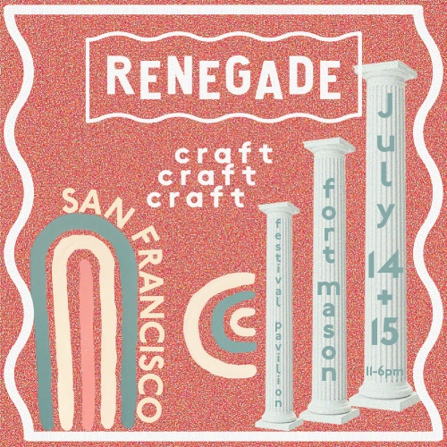 Holly Coley at Renegade Craft - I'll be showcasing an exciting new display for this fair. Don't miss it!