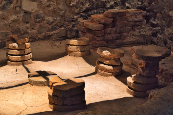 Teseum: Three metres below ground, age-old stones tell the story of the town Tongeren.