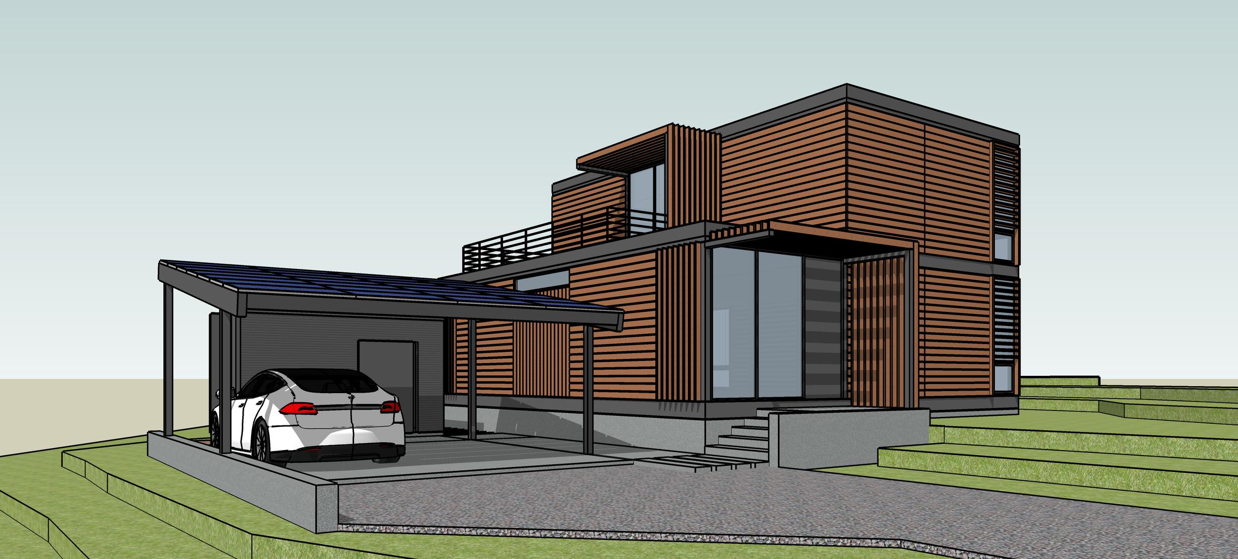 Modular Home  (Concept)