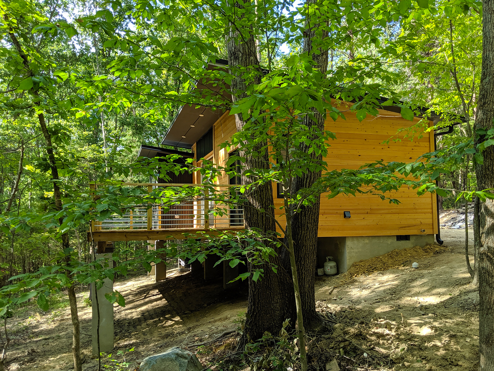 Hughes Cabin 4 Haven Design Build Durham NC