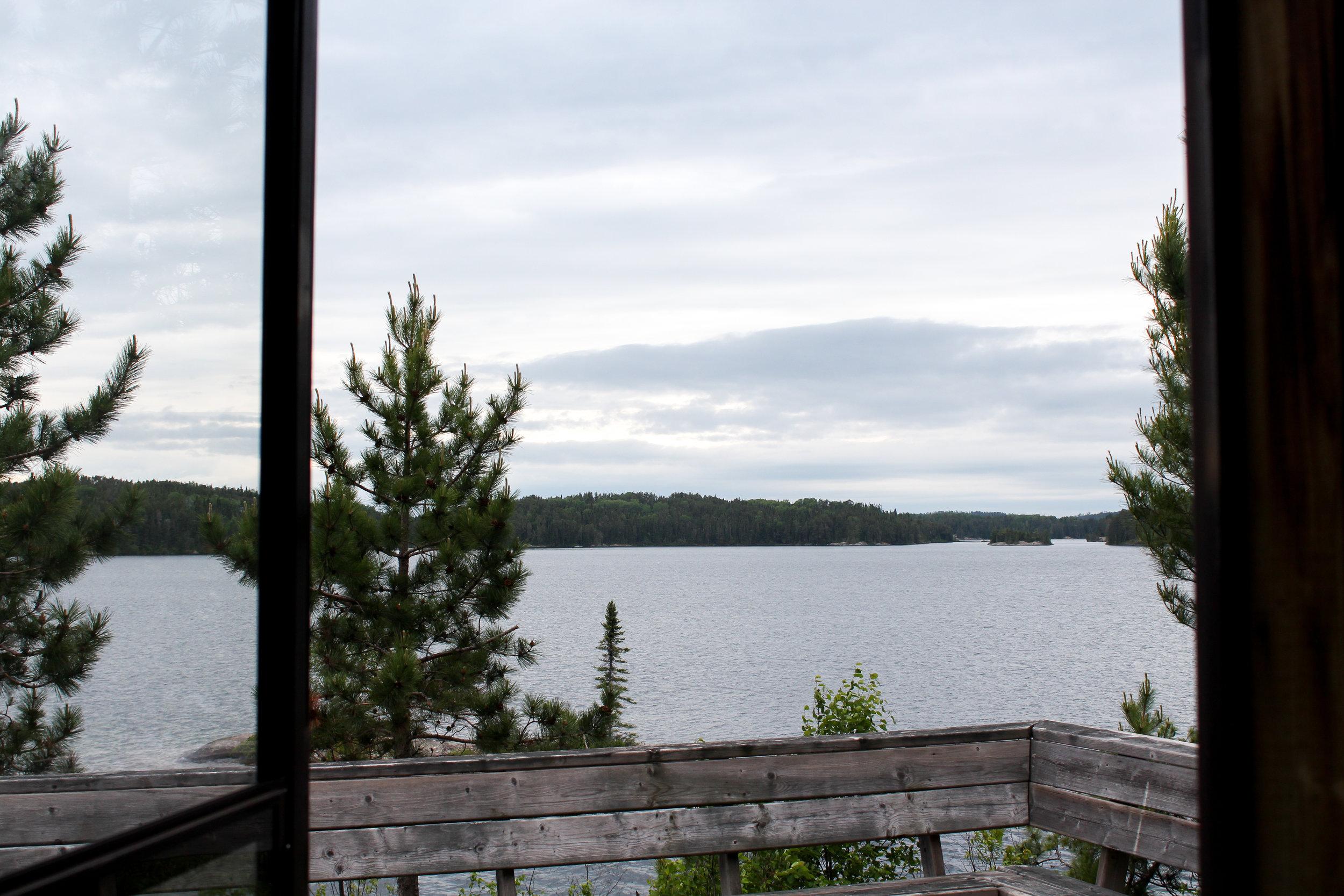 View from the front door!
