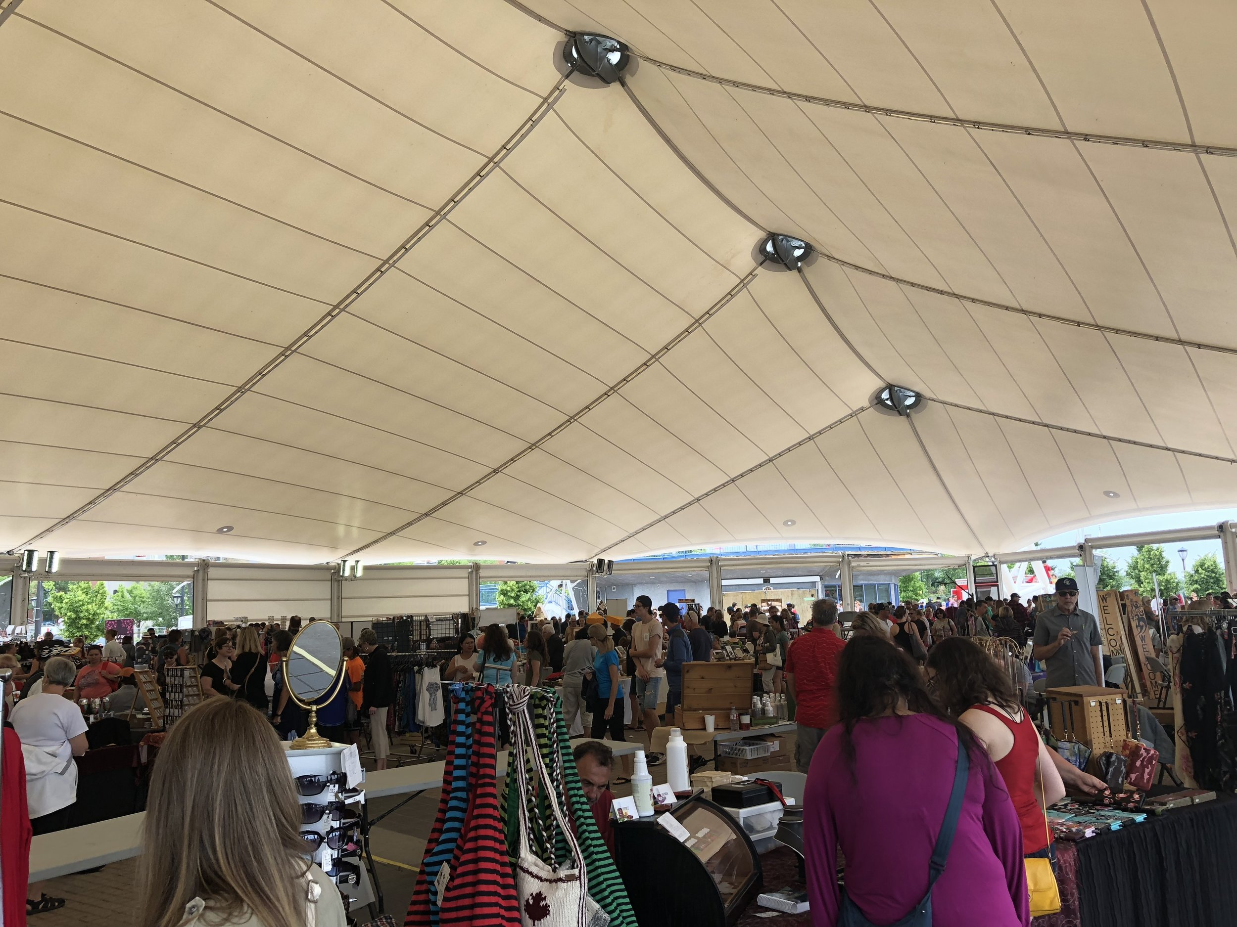 The Matiowski Farmer's Market at the Kenora Harbourfront