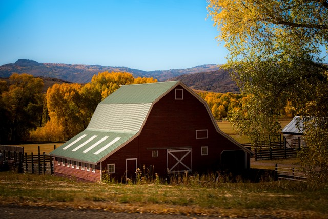 Use drones to perform aerial inspections of barns, buildings, and other assets around your farmstead. (Photo by Nathan Anderson on Unsplash.)