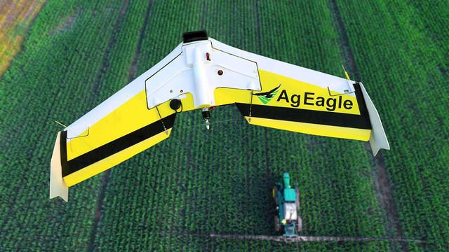 AgEagle RX60 in flight